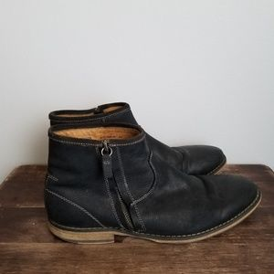 Florsheim limited flagstone zip ankle boot black